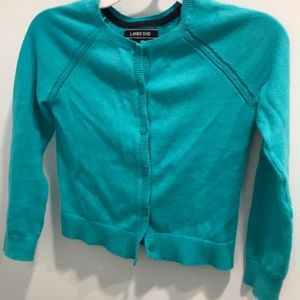 Lands End Girls Sweater Size 5-6